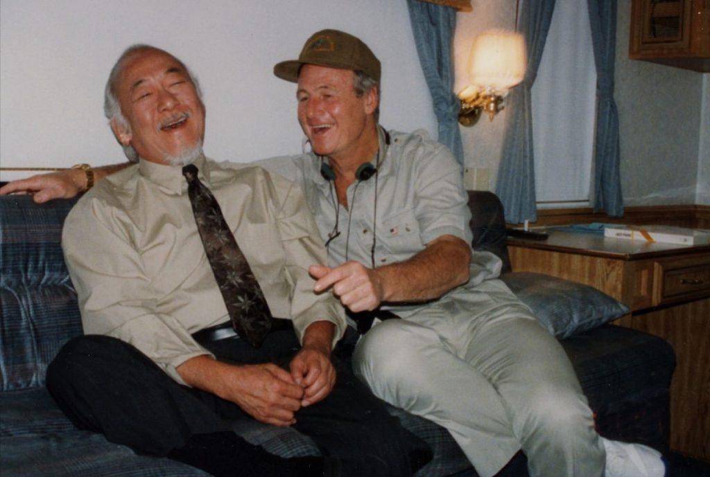 Pat Morita laughing